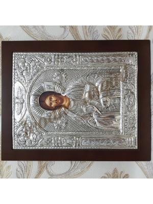 """Icoana din argint """"Iisus"""" (30.7x24.6 cm) cod 104-06"""